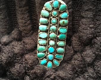Large Vintage Zuni Ring