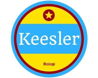 Keesler AFB Sticker