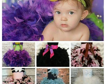 flower girl tutu dress, feather tutu dress, flower girl dress, birthday tutu dress,vintage tutu dress, vintage flower girl dress