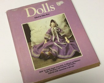 Doll Making Book - Dolls - Ethne Rose - How to Make Dolls - Dollmaking - Dollhouse Plans - Dollmaking Accessories - Doll Clothes
