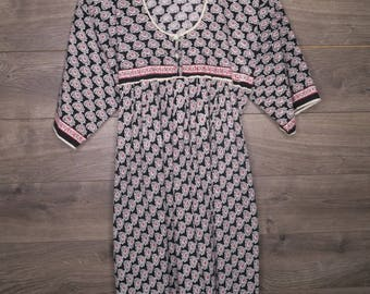 Vintage Brocade Dress [0130]