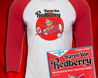Baron Von Redberry Vintage Cereal Saturday Morning Cartoons