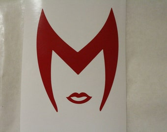 Scarlet Witch The Avengers Marvel Decal Any Size Any Colors