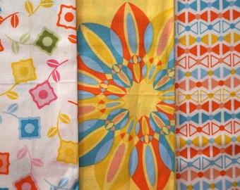 Power Pop by Jenean Morrison for Free Spirit Fabrics - Fat Quarter Bundle - 3 pieces