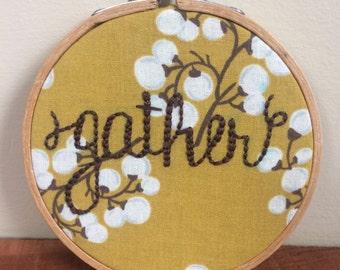 Gather Hoop Art