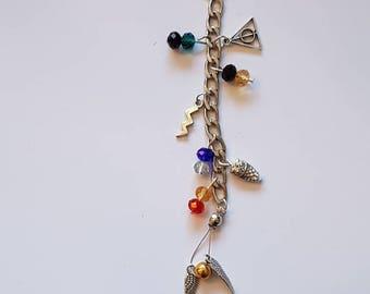Harry Potter bag charm, key ring