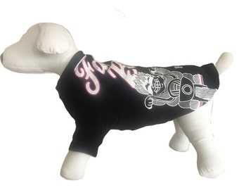 Small, Dog Shirt, Fat Boys Club, gear, clothing