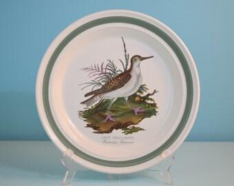 Portmeirion Birds of Britain Grey Phalarope Deep Dinner Plate