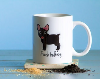 French Bulldog Mug (girl)