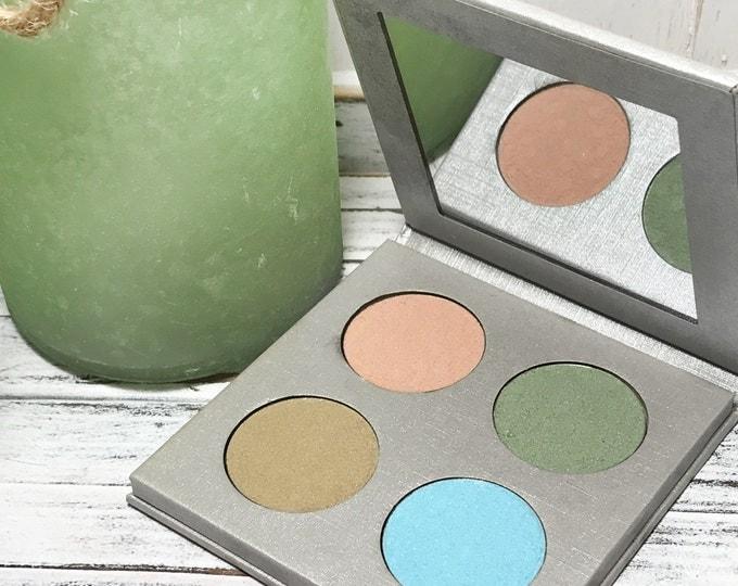 Vegan Eyeshadow-Pastel Eyeshadow-Pressed Eye Shadow-Eyeshadow-Quad 15 Eyeshadow Palette-Organic Pastel Eyeshadow, Vegan Pastel Eyeshadows