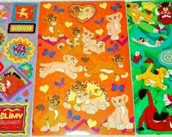 Lion Sticker Etsy