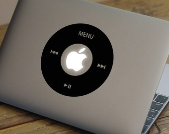 """IPOD MacBook Decal Sticker fits 11"""" 13"""" 15"""" and 17"""" models"""