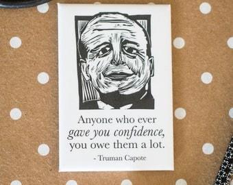 Truman Capote Literary Kitchen Magnet