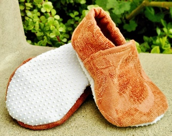 Shabby Chic Super Soft Baby Slippers