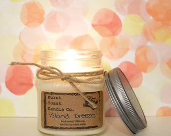 8oz Island Breeze Soy Candle