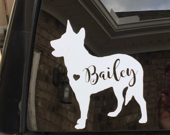 Custom Heeler Decal