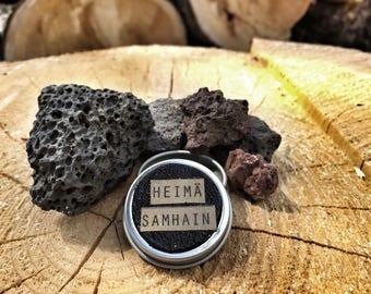 Solid perfume Samhain - coffee, clove and patchouli. Sahmain Solid perfume - coffee, clove and patchouli