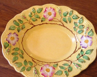 James Kent Wild Rose Serving Bowl