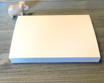 blank index cards 4x6