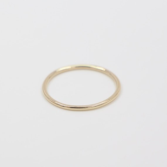 sale 14k gold thin ring gold white gold by