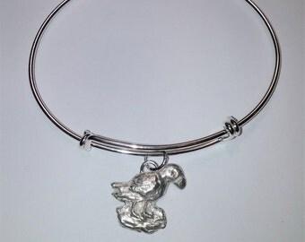 Puffin expandable bracelet