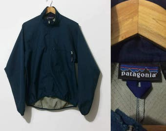 1990s Patagonia Zip-up Windbreaker L