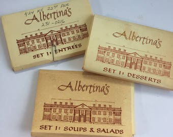 Vintage Recipes - Recipe Card Library - Albertina's Recipes - Recipe Cards - Vintage Kitchen - 1990s Recipes - Albertina Kerr - Portland Or