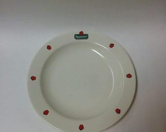 Vintage Oneida Applebee's Souvenir 12-inch Dinner Plate