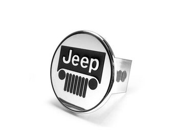 Jeep Chrome Trailer Hitch Plug