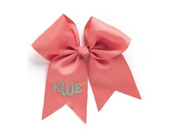 Monogrammed hair bows / hair bows / Personalized hair bows