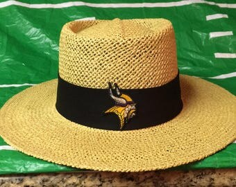 Minnesota Vikings straw hat