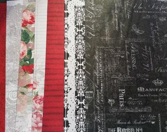 Scrapberry's Elegy 12x12 Paper
