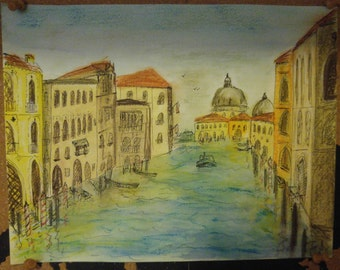 Venice waterscape (A4)