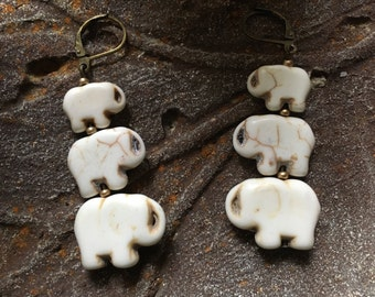 Wildlife Fundraiser, Elephant Jewelry, Personalize Family Gift, Lucky Charm, Mother Jewelry, Earth Day, Mother Daughter, Cousin Gift