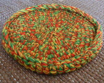 Crochet Cat Bed - Citrus Yarn