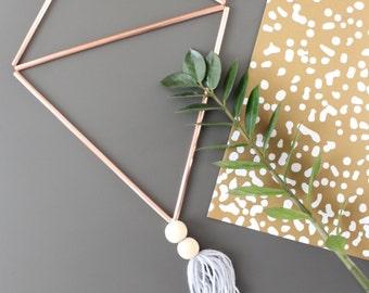 ELIAS // Minimalist Wall Hanging // Modern Geometric Decor