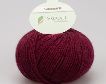 Cashmere deep red