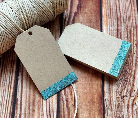 Blank handmade rustic paper tags, set of 25 custom vintage wedding labels, engagement party bridal shower wedding decor, DIY place cards