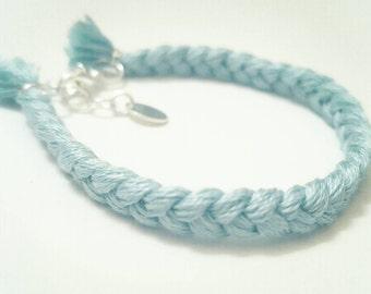 Braided baby bracelet