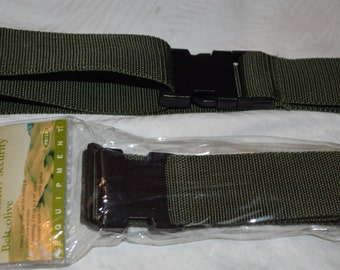 Hunter shell/security, military belt Olive