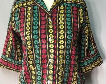 60's Mod Print Jacket