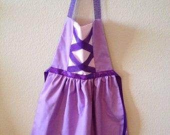 Rapunzel Inspired Dress-up Apron