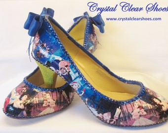 Beauty & The Beast Theme Court Shoes