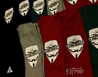 43Tribe, Anonymous T-shirts