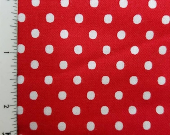 polka - dot - small -  fabric - quilting - cotton