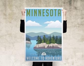 Minnesota Travel Poster