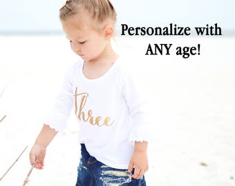 Second birthday outfit for girl - Two birthday shirt - 2nd birthday shirt - 2nd birthday outfit for a girl - Toddler girl birthday outfit