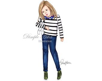 children illustration,children portrait,custom illustration,custom portrait,illustration,kids sketch,fashion illustration,fashion,wall art