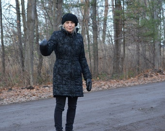 """Code WINTEREND: 20% off discounted price and reduced shipping!  Type """"jacket"""" black castle Small coat"""