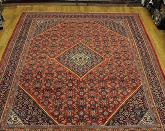 Excellent Condition Tribal Mahal Arak Persian Oriental Area Rug Carpet 10X13